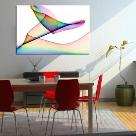 Dekoracyjna lekkość - obraz nowoczesny abstrakcja nr 2189