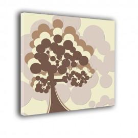 Cień drzewa - obraz na płótnie nr 2208