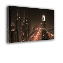 Arabia Saudyjska nocą - obraz na płótnie nr 2215