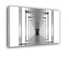 Głębia tunelu - obraz na płótnie nr 2230