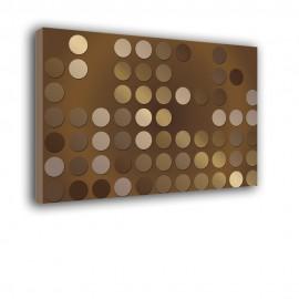 Kremowe kropki - obraz na ścianę nr 2267