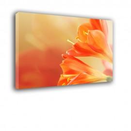 Pomarńczowe Lilie - obraz nowoczesny kwiaty nr 2271