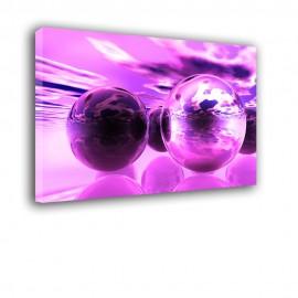 Różowe kule - obraz na ścianę nr 2275