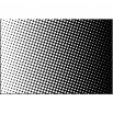 Czarno białe kropki - obraz na płótnie nr 2300