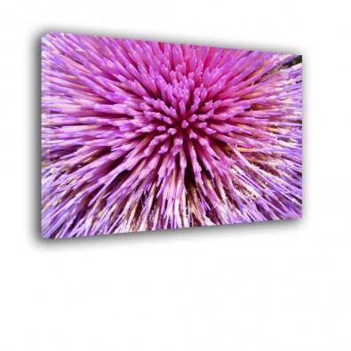 Różowe kwiaty - obraz na płótnie nr 2309