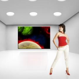 Kosmiczna odyseja - obraz nowoczesny nr 2330