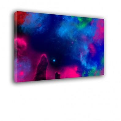 Kosmiczne mgławice - obraz na płótnie nr 2331