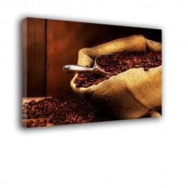 Worek z kawą - obraz na ścianę do kuchni nr 2029