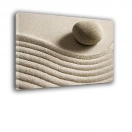 Kamień na piasku - obraz nowoczesny nr 2350