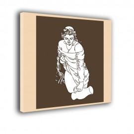 Kobieta z dzbanem - obraz nowoczesny nr 2409