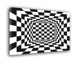 Kwadraty - obraz nowoczesny geometryczny nr 2038
