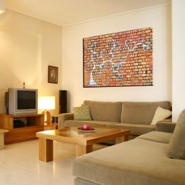 Ceglany mur - obraz nowoczesny nr 2454