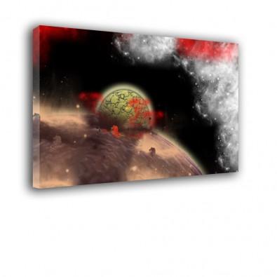 Uderzenie meteorytu - obraz nowoczesny nr 2476