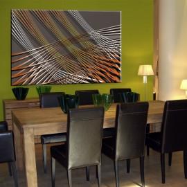 Siatka - obraz nowoczesny abstrakcja nr 2478
