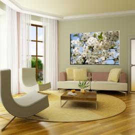 Gałązka jabłoni - obraz nowoczesny nr 2491