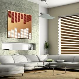 Widmo akustyczne - obraz nowoczesny nr 2500