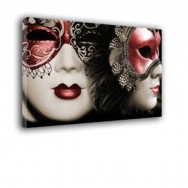 Maski weneckie - obraz na płótnie nr 2509