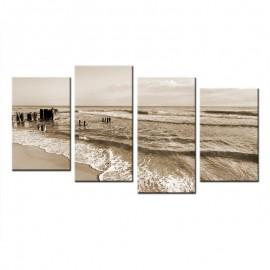 Morze - obraz na płótnie wieloczęściowy 60009