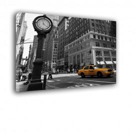Zegar na ulicy Nowego Jorku - obraz na ścianę nr 2075