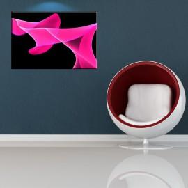 Różowa wstęga - obraz na ścianę do sypialni nr 2076