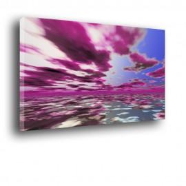 Fioletowe chmury - nowoczesny obraz nr 2003