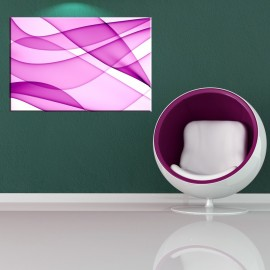 Różowa migawka - obraz nowoczesny abstrakcja nr 2100