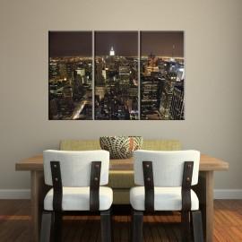 Nowy Jork nocą - obraz na ścianę nr 2606