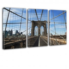 Brooklyn Bridge - obraz na ścianę do biura nr 2609