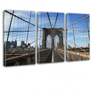 Brooklyn Bridge - obraz na ścianę do biura nr 2609