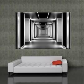 Tunel - obraz na ścianę powiększający wnętrze nr 2112