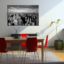 Czarno biały New York - obraz na płótnie nr 2113