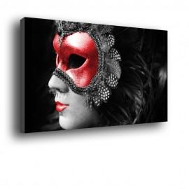 Wenecka maska Mężczyzna - obraz nowoczesny nr 2005