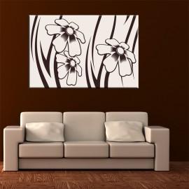 Kremowe kwiaty - obraz na ścianę nr 2129
