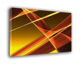 Pomarańczowy oddech - obraz nowoczesny abstrakcja nr 2151