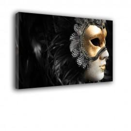 Złota maska wenecka - obraz nowoczesny nr 2162