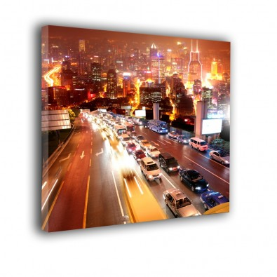 Autostrada nocą - obraz nowoczesny nr 2164