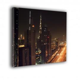 Abu Dabi nocą - obraz nowoczesny nr 2177