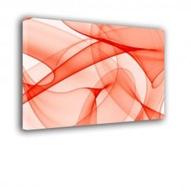 Czerwone linie - obraz nowoczesny abstrakcja nr 2179
